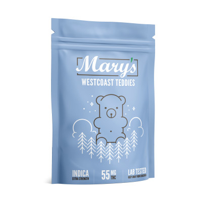 Mary's West Coast Teddies 55mg