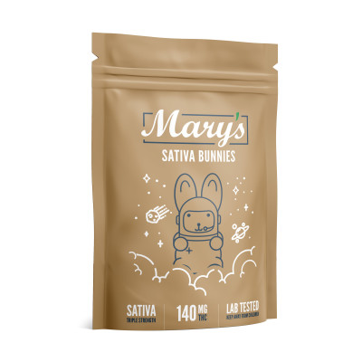 Mary's Sativa Bunnies 140mg