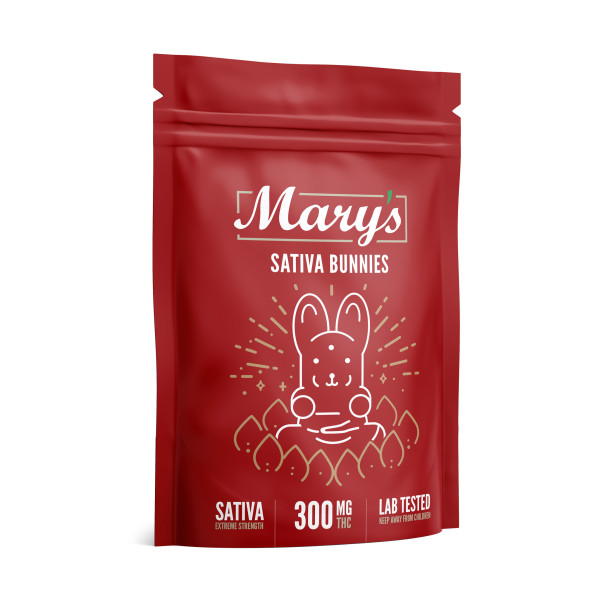 Wellness Lifestyle Mary's Sativa Bunnies 300mg