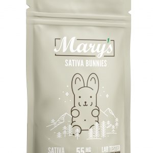 Mary's Sativa Bunnies 55mg