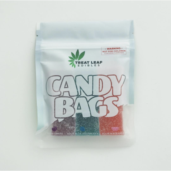 Wellness Lifestyle Treat Leaf Candy Bags – 720mg