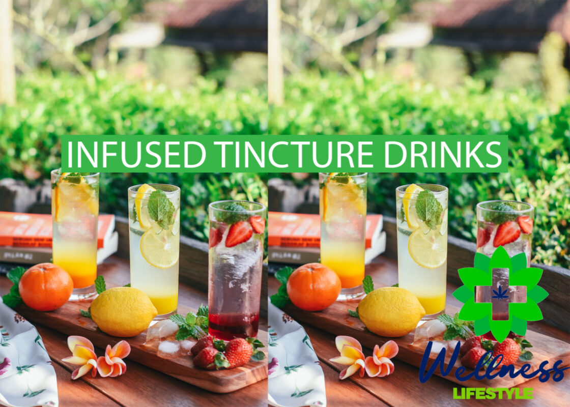 Wellness Life Cooking with Cannabis - Tincture Infused Drinks